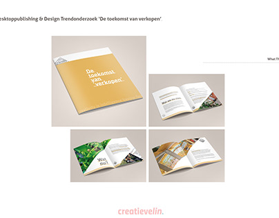 Trendreport design - What The Future