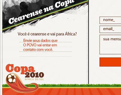 Formulário contato Copa