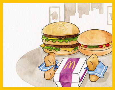 McDonald's 30th anniversary in China