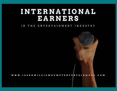 International Earners in Entertainment | Jason Kumpf