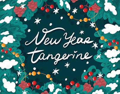 New Year Tangerine