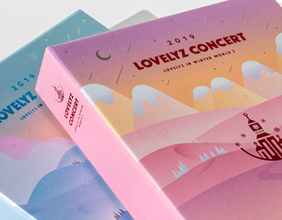 Lovelyz Concert Bluray, Kihno Package Design