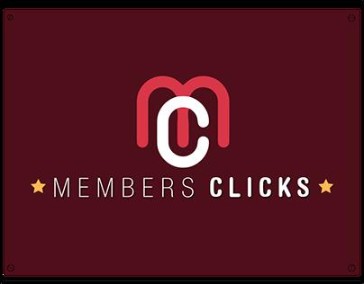 Members Clicks Panamá - Logo, Web, Marketing -