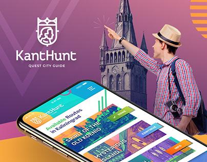 KantHunt - Quest City Guide App