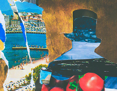 Transparent Snob // Analog Collage