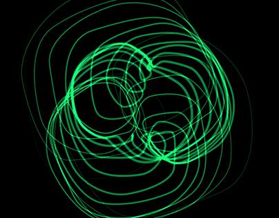 Cinema 4D Exercises - Spirographs