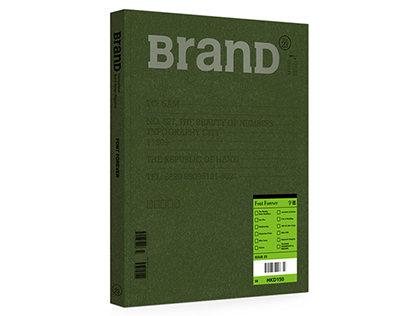 "BranD MAGAZINE issue 23 ""Font Forever"""