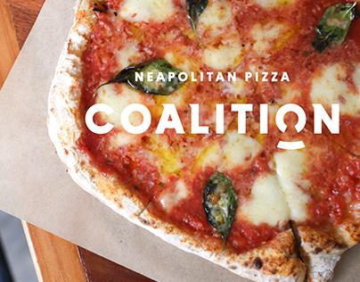 Coalition Pizza Branding
