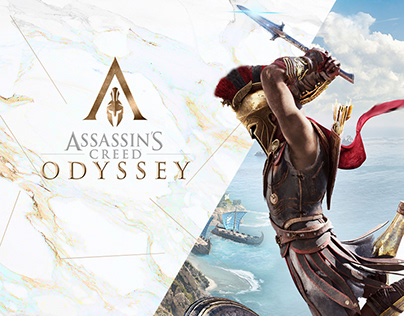 Assassin's Creed Odyssey Web Design Concept