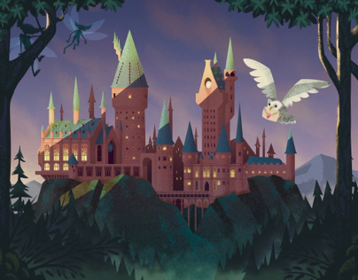Hogwarts Morning