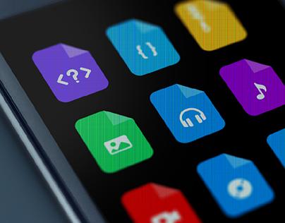 Say Hello Filetypes (FREE icon set)