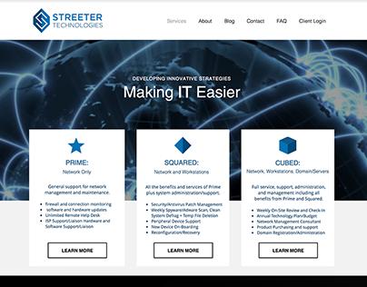 Streetertech.com Rebrand