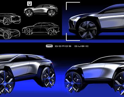 QUBIC concept SUV