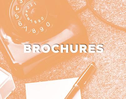 Brochures, dépliants, plaquette entreprise