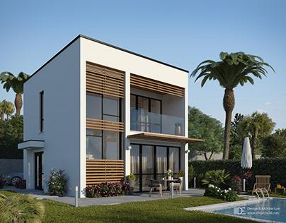 Minimal house in Greece
