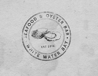 Oyster & Seafood Bar & Grill Logo Design