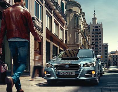 Subaru Levorg Campaign Images