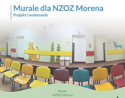 Murale dla NZOZ Morena