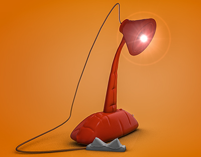 Blowup Lamp