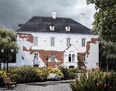 Проект реставрации замка Гердауэн
