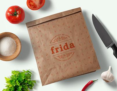 Frida Restaurant Branding Refresh