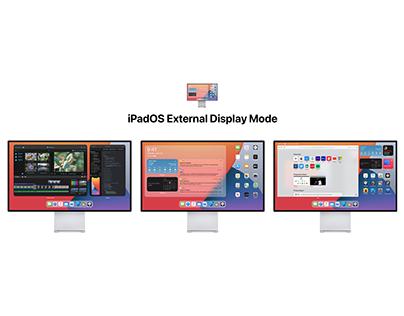 iPadOS External Display Mode