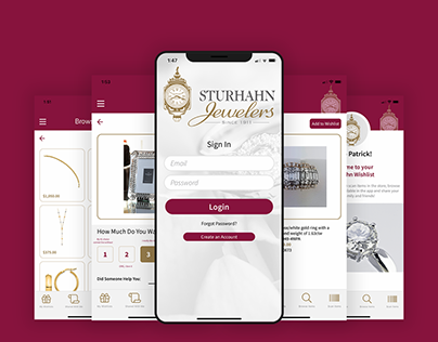 Sturhahn Jewelers Wishlist App