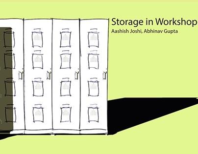 Design Process - Storage in Workshop