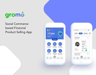 Gromo | Social Commerce based Loan selling App
