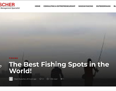 The Best Fishing Spots in the World!