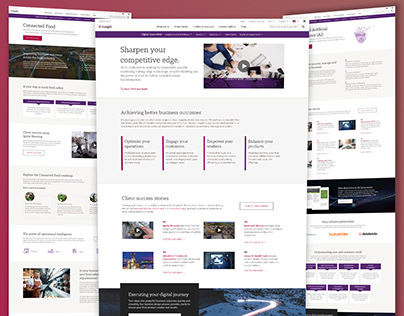 Solutions Landing Page