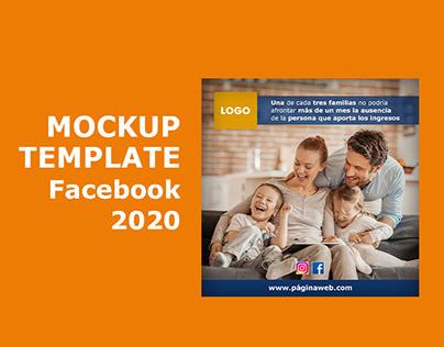 Mockup para facebook gratis FREE