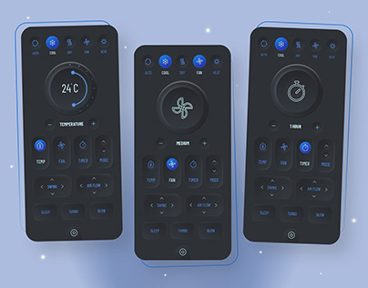 Smart Remote App Design