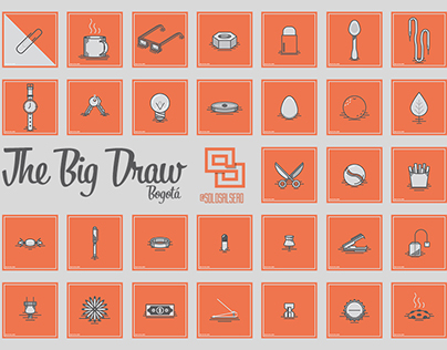 31 Objects - The Big Draw Bogotá (Agosto 2015)