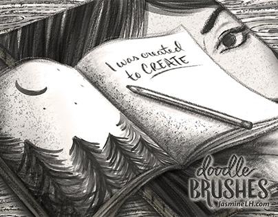 Doodle Brushes Set