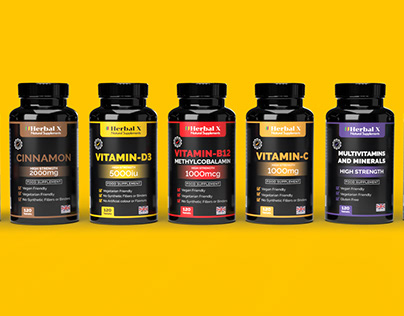 Website Banners & 3D Pill Bottle Mockups