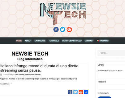 Newsie Tech