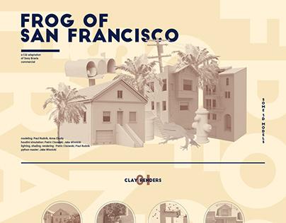Frog of San Francisco