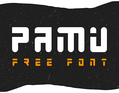 PAMU - FREE FUTURISTIC DISPLAY FONT