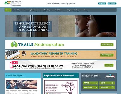 Colorado Child Welfare Training System LMS