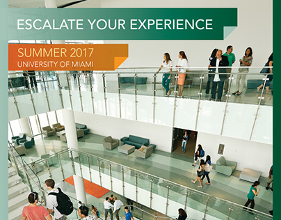 University of Miami - 2017 Summer Study brochure