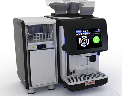 Cimbali S30 Coffee Machine 3D Visualisation