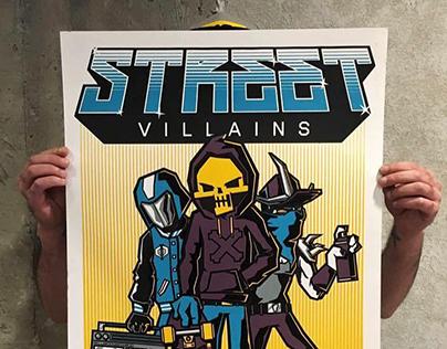 Street Villains for Villainz by KRÜW