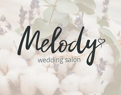 "Branding for the wedding salon ""Melody"""""