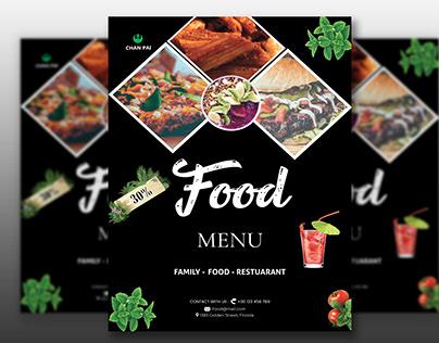 Flyer Design for restaurant