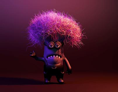 Bad Minion 3d