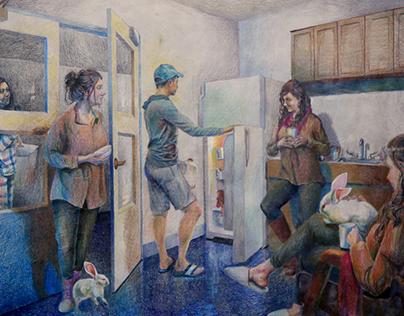 Routine - Nadia Lahlaf