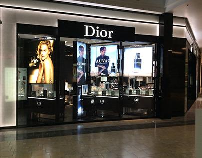 Luxury Cometics Brand Store Illumination