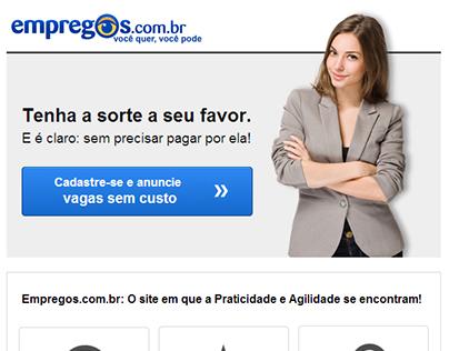 E-mails Marketing Empregos