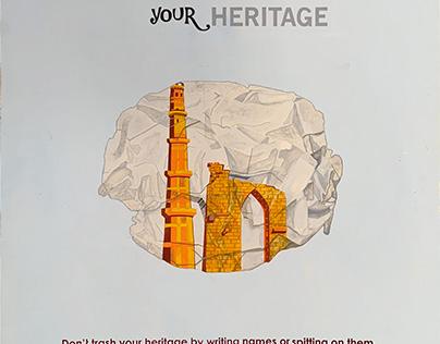 Social Campaign (Preserve Heritage)